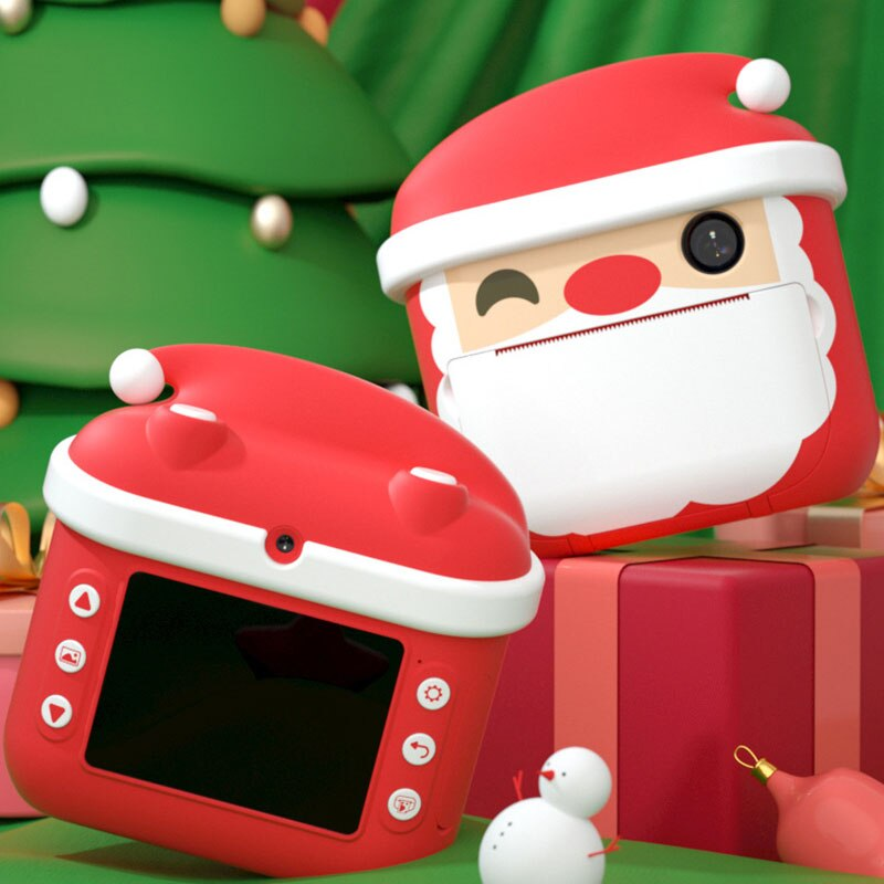 Children's WI-FI Camera With Print Instant Print Photos Camera Kids Toys Boy Girl Cute Christmas Gift 1080P Video Digital Camera