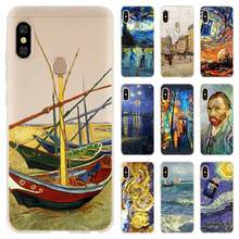 Case For Xiaomi Redmi Note 8 7 6 5 pro Cover Redmi 7a 6a s2 5a 5 Plus 4a 4x K20 Pro Doctor who van gogh Art