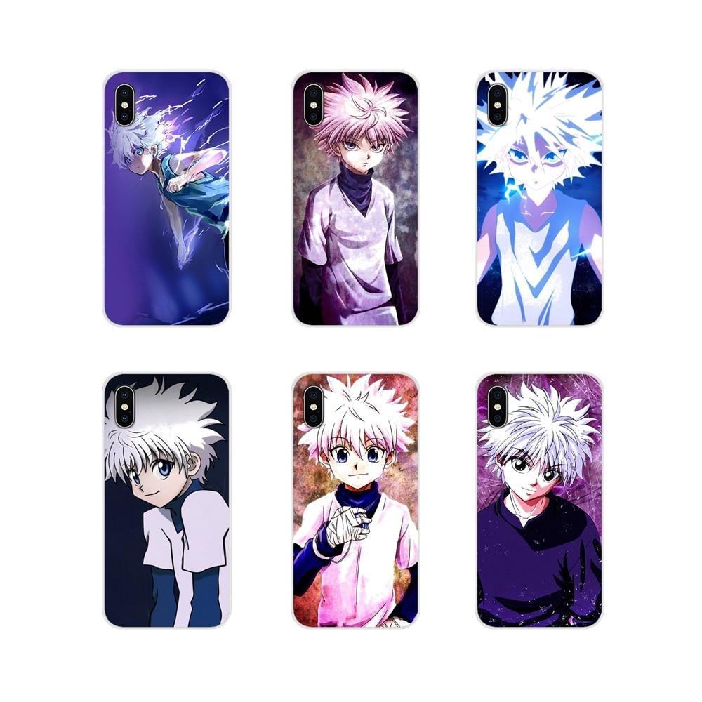 For Samsung A10 A30 A40 A50 A60 A70 M30 Galaxy Note 2 3 4 5 8 9 10 PLUS Phone Case Covers Anime Hunter X Hunter Killua Zaoldyeck