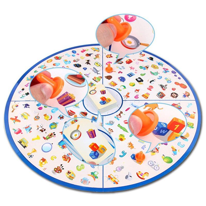 ألعاب تعلم مونتيسوري-مجموعة من بطاقات الألغاز ، لعبة لوحية ، تعليمية ، تدريب الدماغ ، استراتيجية