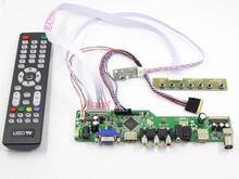Yqwsyxl Kit para B156XW02 V2 HW4A TV + HDMI + VGA + AV + USB LCD pantalla LED controlador de la Junta