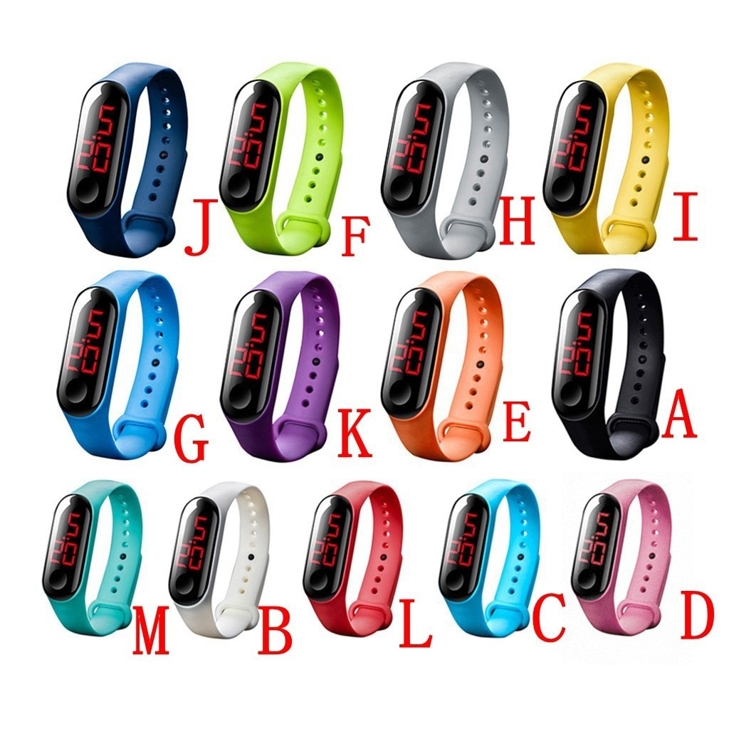 Simple Women Watch Hand Ring Watch Led Sports Fashion Electronic Men And Women Watches Technology El