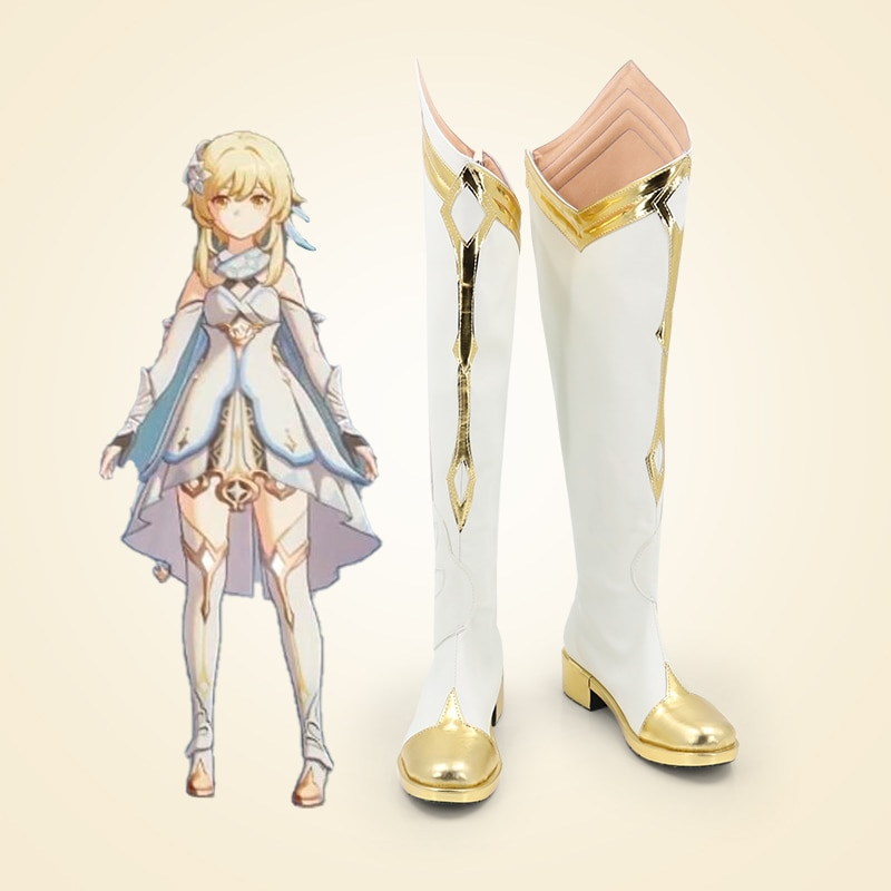 للجنسين أنيمي كوس لومين تأثيري ازياء أحذية أحذية هالوين حفلة عيد الميلاد حجم مخصص