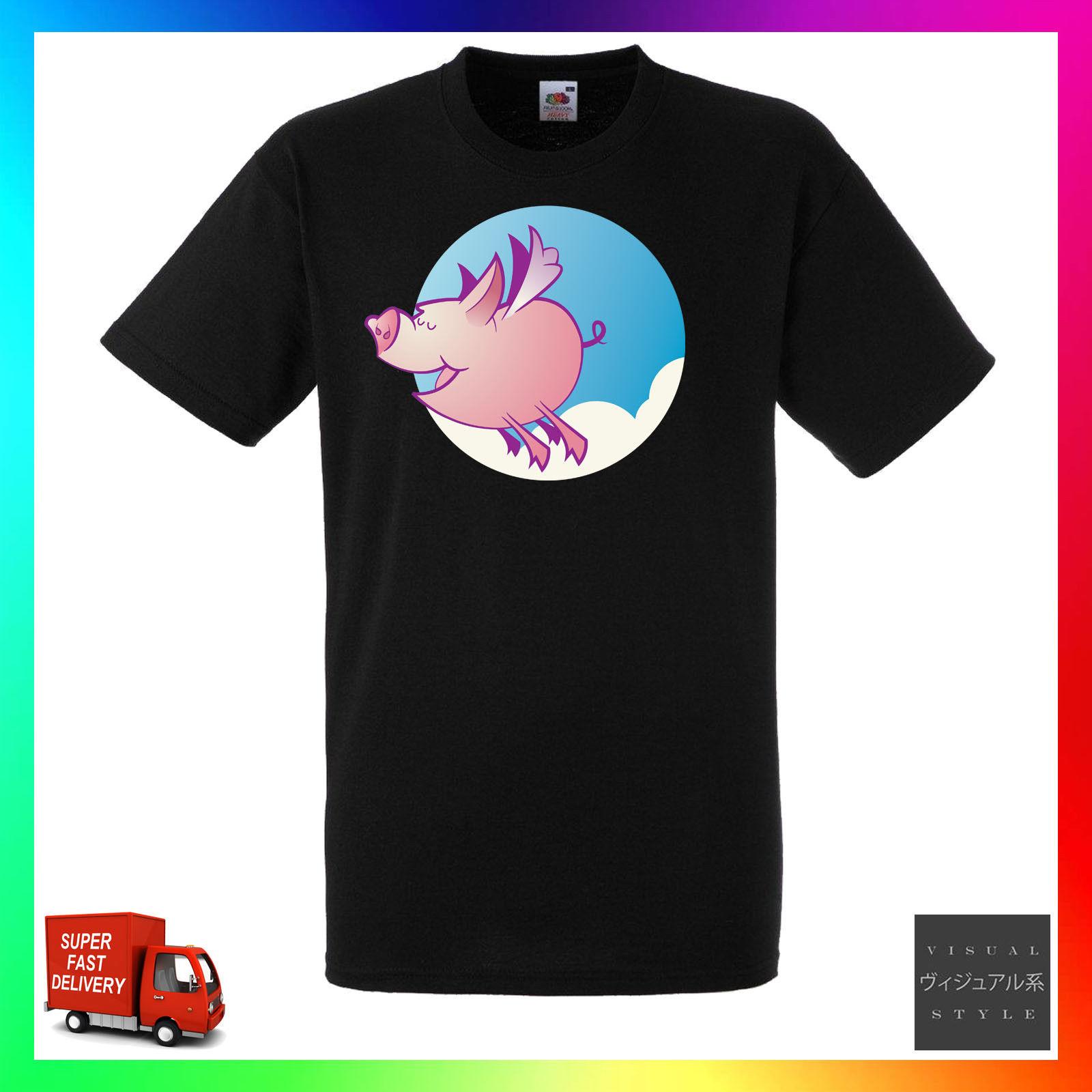 Pigs Will Fly camiseta Unisex lindo Flying May cita diciendo divertido CoolCool Casual pride camiseta hombres moda Unisex