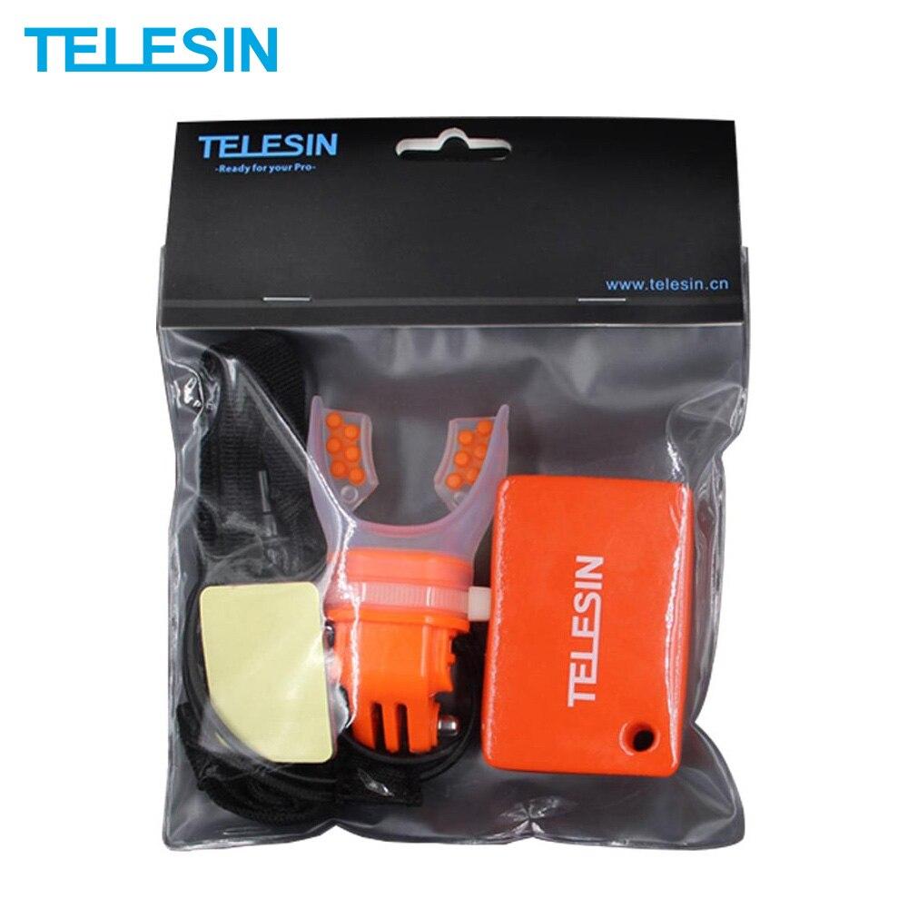 Крепление для камеры TELESIN Surfing Shoot, плавающий ремешок для GoPro SJCAM Xiaomi YI 4K DJI Osmo, аксессуары для экшн-камеры