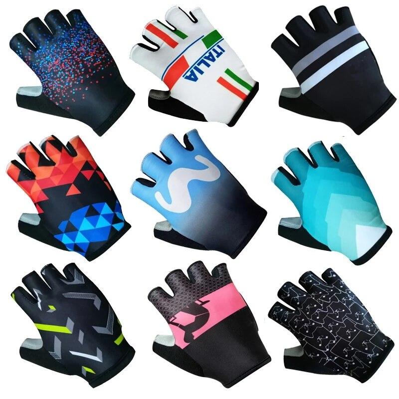 Mitones de ciclismo para hombre y mujer, guantes antideslizantes, a prueba de...