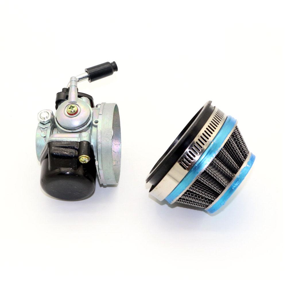 Motocicleta Mini aventura Carb con filtro de aire para KTM 50 SX Pro Junior LC Universal de accesorios para automóviles