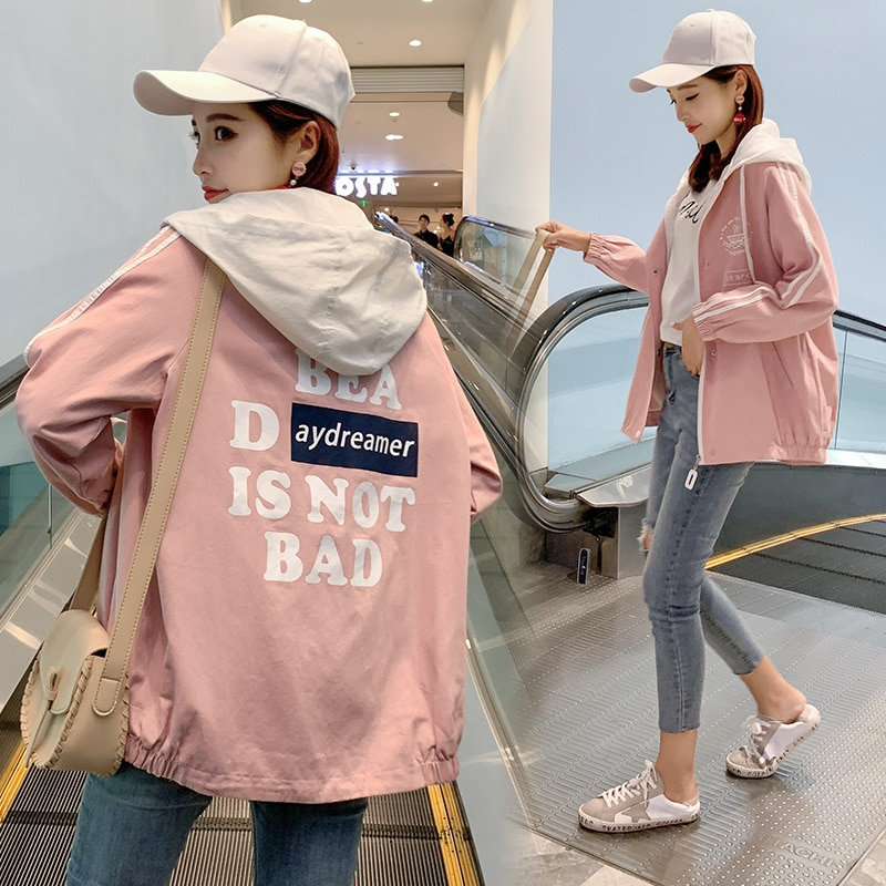 2020 Middle School Student Spring and Autumn New Korean Style Girl Spring College Style BF High Scho