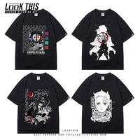 demon slayer 2021 funny t shirt cool teenager girlsboys cool anime manga t shirt kdis summer short sleeve tee streetwear tops