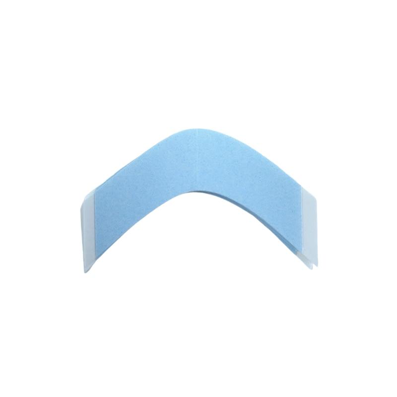 Fita adesiva do forro azul da fita do toupee do apoio da parte dianteira do laço dos pces 36 fita adesiva um uso máximo favorito fita do sistema de cabelo