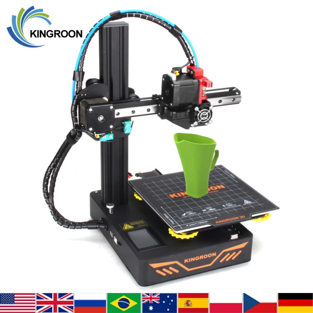 KINGROON DIY 3D Printer KP3S Upgraded High precision 3D принтер 180*180*180mm Rigid Metal Frame Drukarka Touch Screen Printer