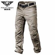 PAVEHAWK Cargo Pants Men Elastic Waterproof Army Tactical Military Hiking Trekking Jogger Casual Tro