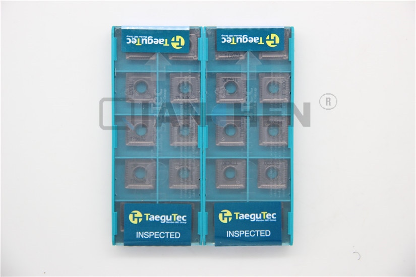 TaeguTec ، 10 قطعة/الوحدة ، مخرطة أداة ، SEMT1304PETR-M TT9030 SEMT1304PETR M TT9030 ، كربيد إدراج ، الوجه مطحنة مخرطة أدوات القاطع CNC أداة