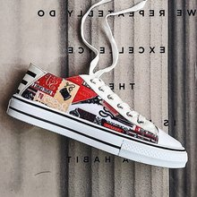 Graffiti étudiants amoureux chaussures loisirs Skateboard chaussures pour hommes et femmes classique espadrilles décontractées vieux Skool Tenis Masculino