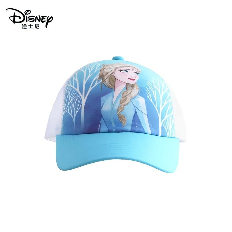 Disney Frozen Elsa Anna  Child Hat Girl Boy Sunshade Baseball Cap Adjustable Summer Sun Hat