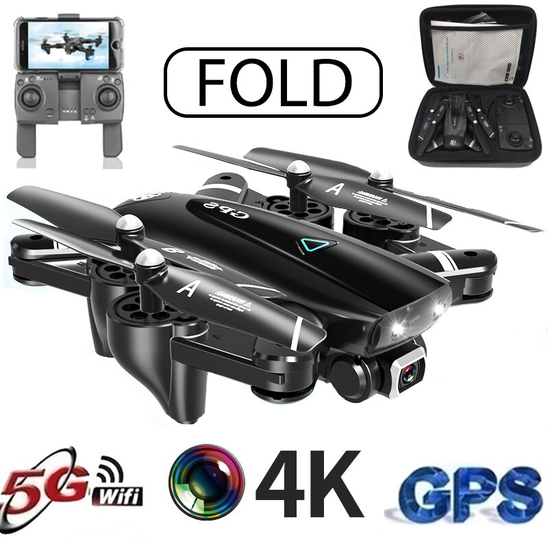 S167 5G Drone GPS RC Quadcopter With 4K Camera WIFI FPV Foldable Off-Point Flying Gesture Photos Video Helicopter Toy enlarge