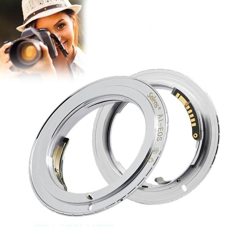 Adaptador de anillo de luz verde inteligente, indicador de enfoque de luz...