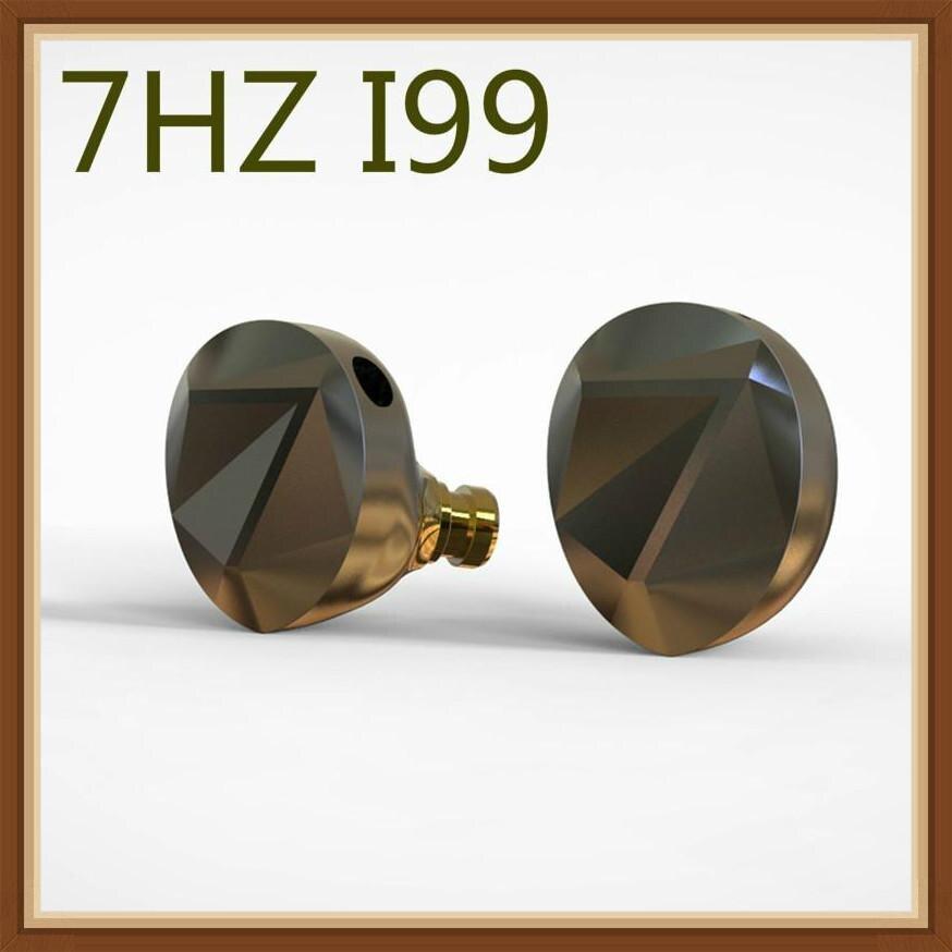 7 هرتز I99 13.8 مللي متر سائق ديناميكي الوجهين البريليوم مطلي دي ال سي الحجاب الحاجز HiFi رصد في الأذن سماعة للموسيقيين السمعية