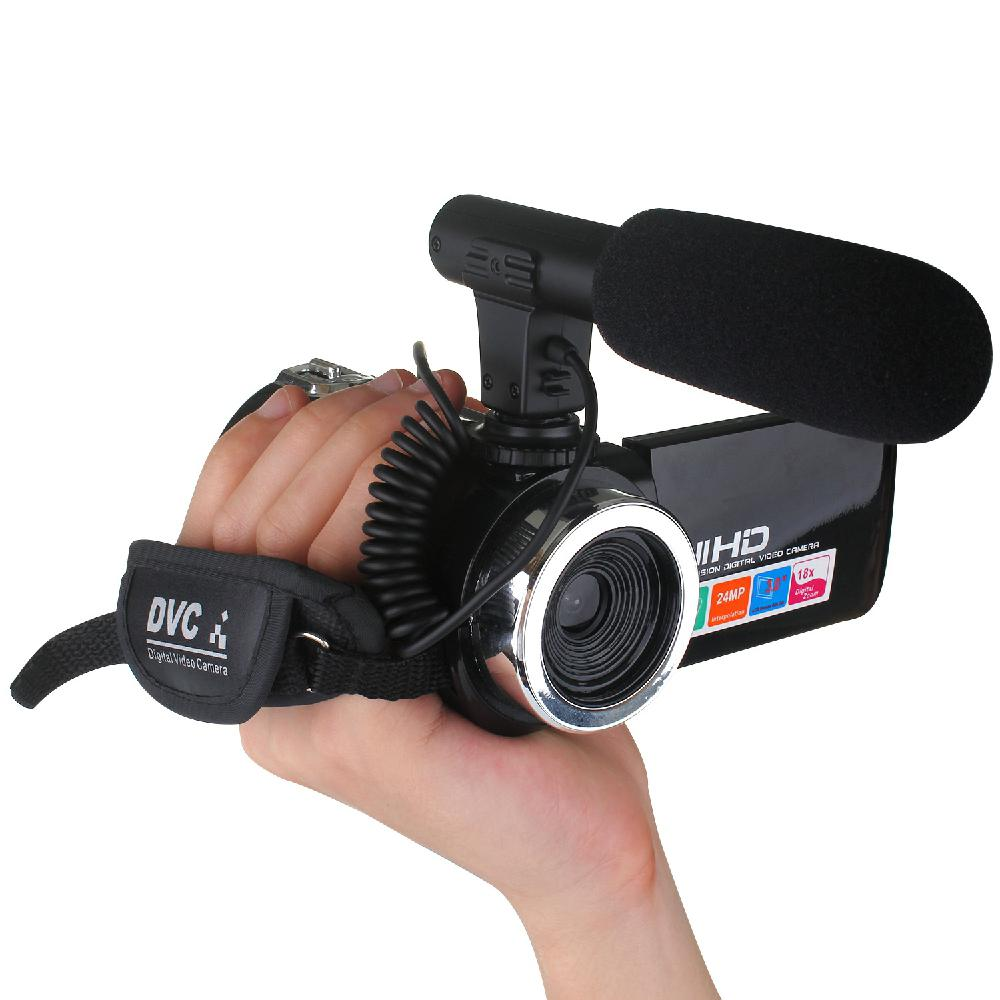 Professional Vlog HD Camcorder Video Home Camera IR Night Vision 3.0
