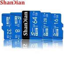 Gorąca sprzedaż karta pamięci cartao de memoria 32G 16GB 8GB Smast karta sd class10 64GB 128GB Smastsd 4gb karta mini tf na smartfona