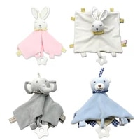 baby soothe appease towel infant plush toys appease dolls cute stuffed bunny blanket comforter baby shower gift toys