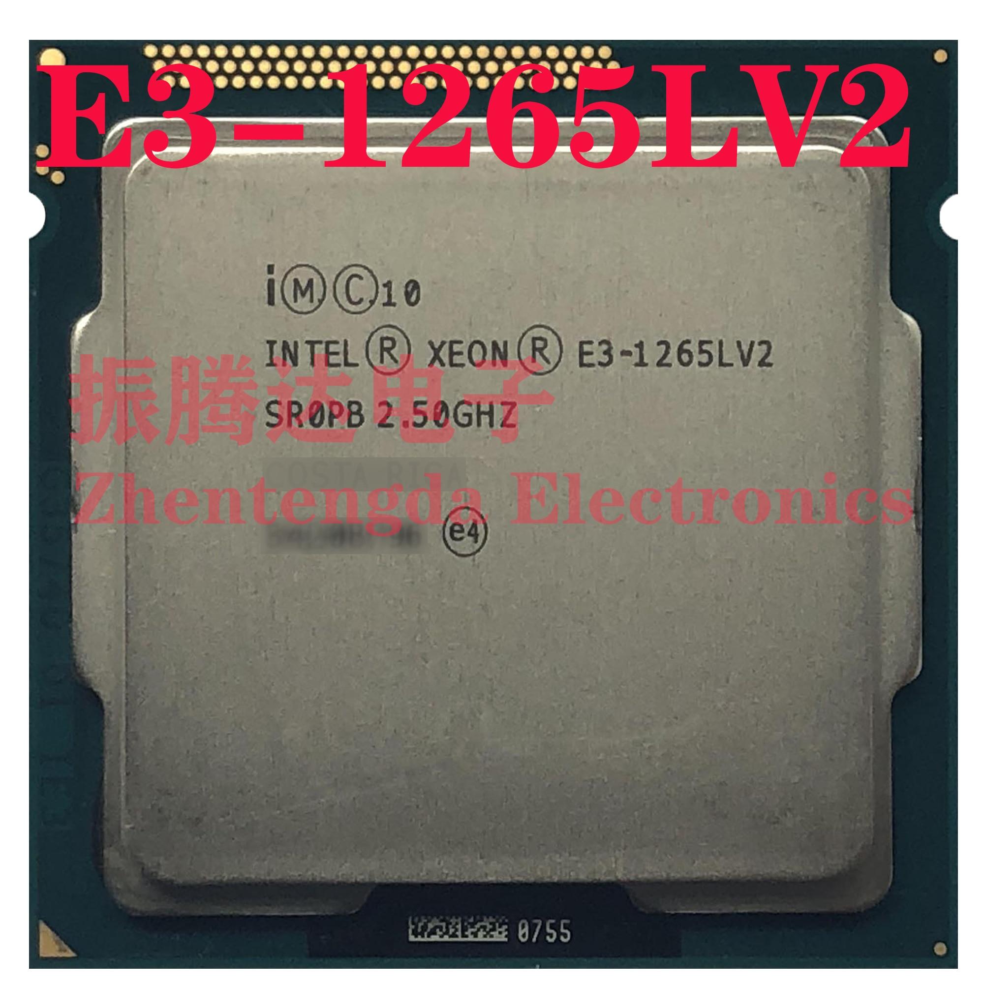 Intel Xeon E3-1265L v2 2.5GHz 8MB 4 Core 8 Thread LGA 1155 E3-1265LV2 CPU Processor