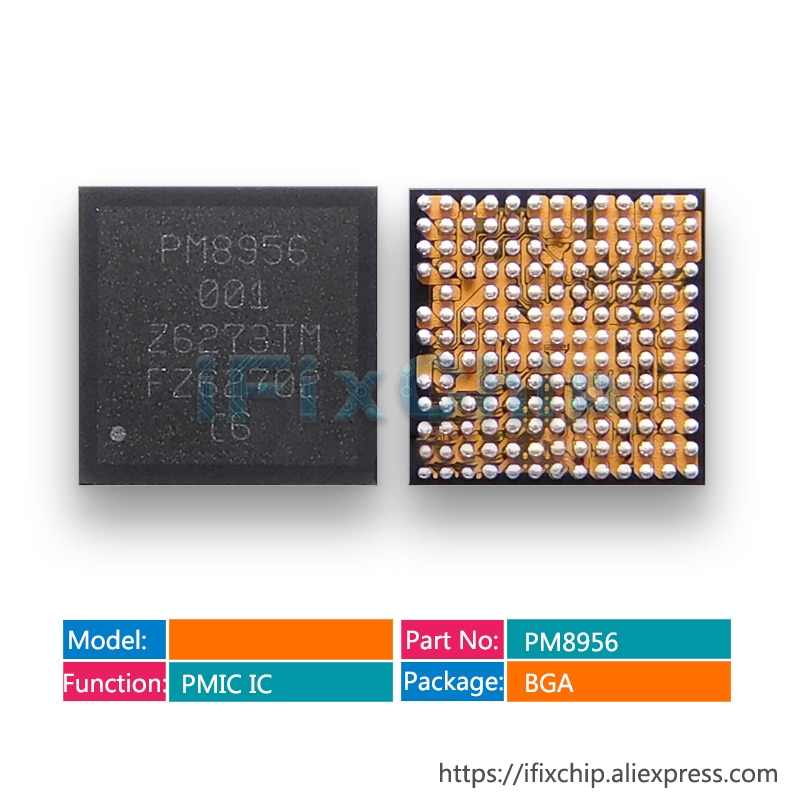 1-25 unids/lote PM8956 para redmi nota 3 IC Chip PMIC PM IC