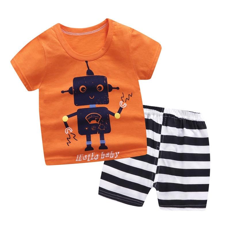 Ropa de niña para verano, camiseta de manga corta, conjuntos de dos piezas, ropa de algodón para niños, ropa de niño niña, conjuntos de ropa para niñas, Regalos de Pascua