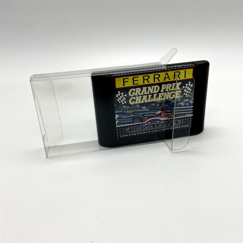 Boîte de Protection de boîte de Collection de boîte daffichage danimal familier pour la carte nue de jeu de Sega MD