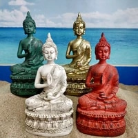 1 pcs creativity garden diy resin ornament buddhism homedecoration for craft ornaments home decoration birthday gifts desk