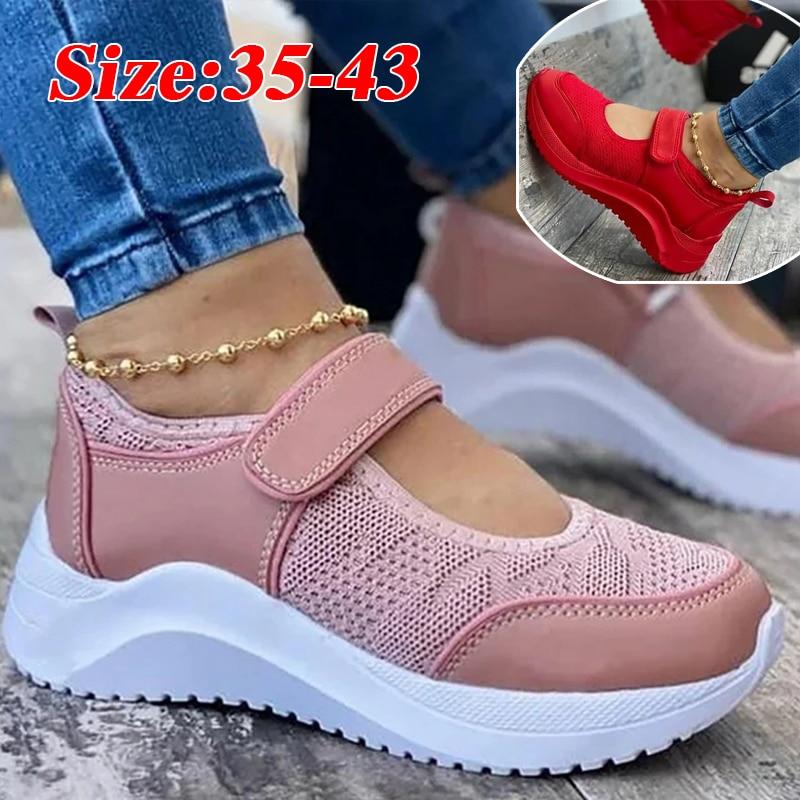 AliExpress - Summer Women Casual Shoes Sneakers Women Shoes Breathable Mesh Platform Women Vulcanize Shoes Non Slip Chaussure Femme