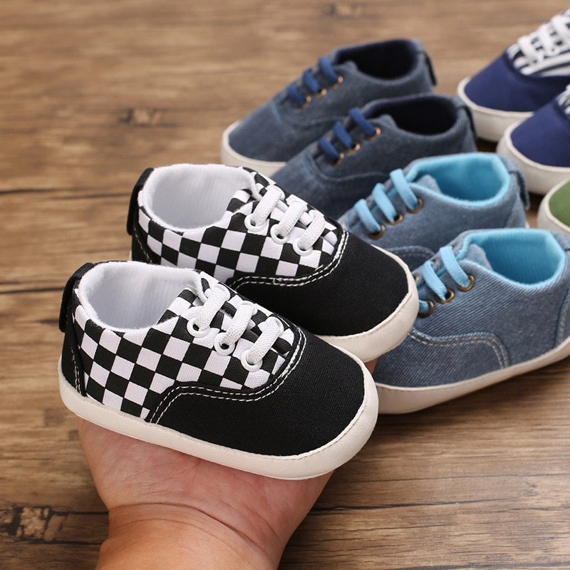 2018 spring autum new infant sports baby boy shoes of children 1 3 years toddler soft bottom hook 0-18M New Baby Boy Casual Baby Soft Bottom Infant Toddler Shoes First Walkers