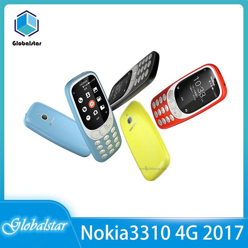 Перейти на Алиэкспресс и купить Nokia 3310 4G (2018) отремонтированный мобильный телефон 2,4 дюйм4G GSM поступление мобильный телефон с оригинальной разблокировкой