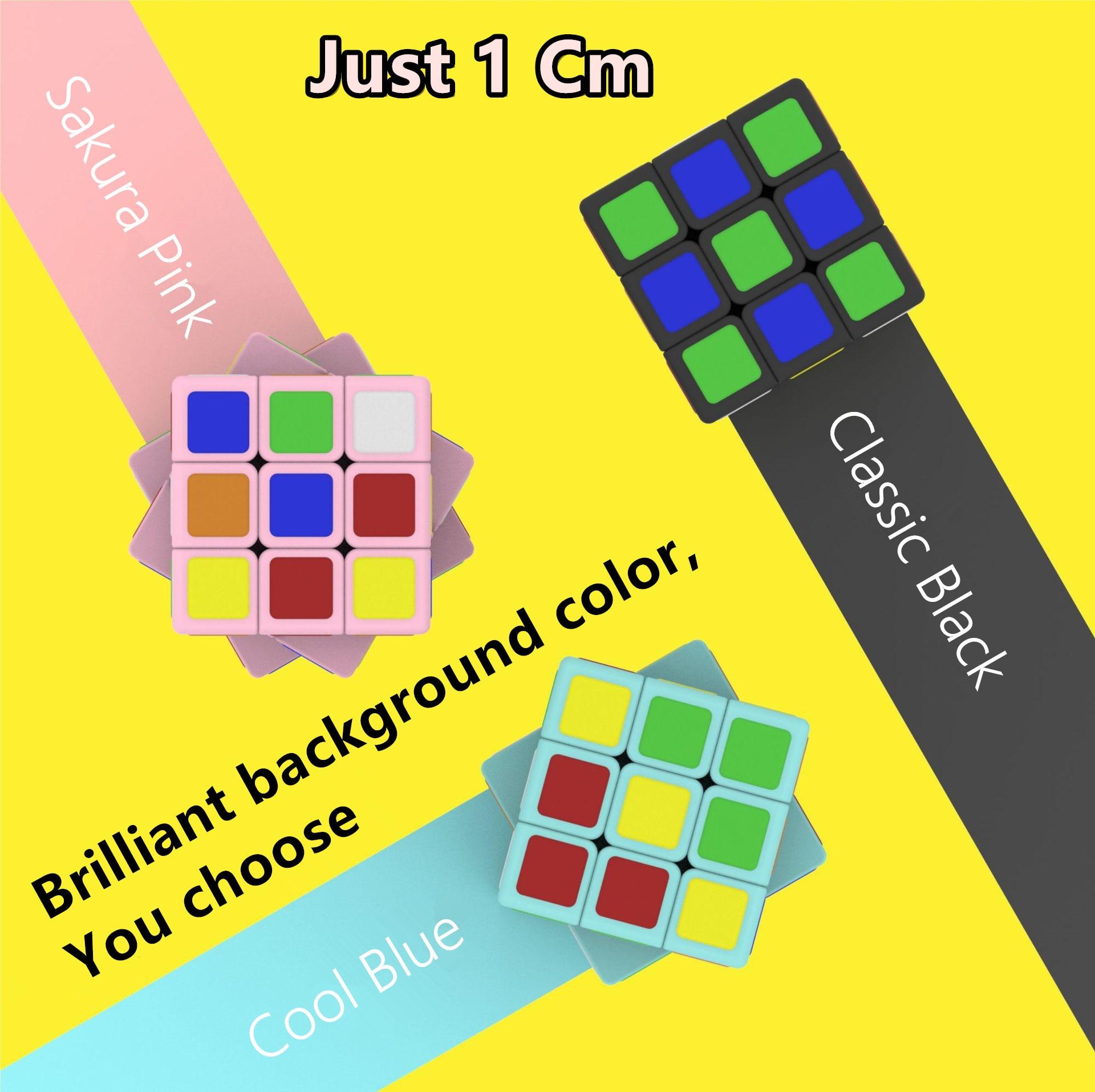 Cubelab 1 см 3x3x3 мини микро магический куб наклейки 3x3 Крошечные 1 см скоростные Кубики-головоломки антистрессовые игрушки