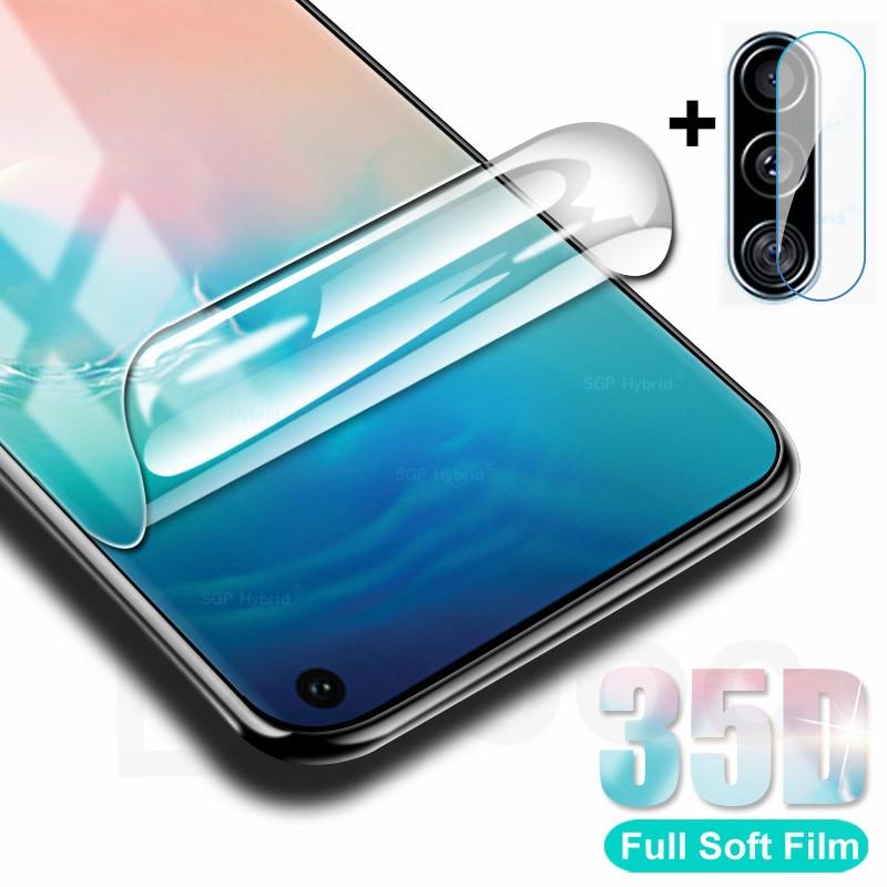 Película de hidrogel curvada completa 35D para Samsung Galaxy S8 S9 S10 Plus S10e Protector de pantalla para Samsung Note 8 9 10 plus película suave