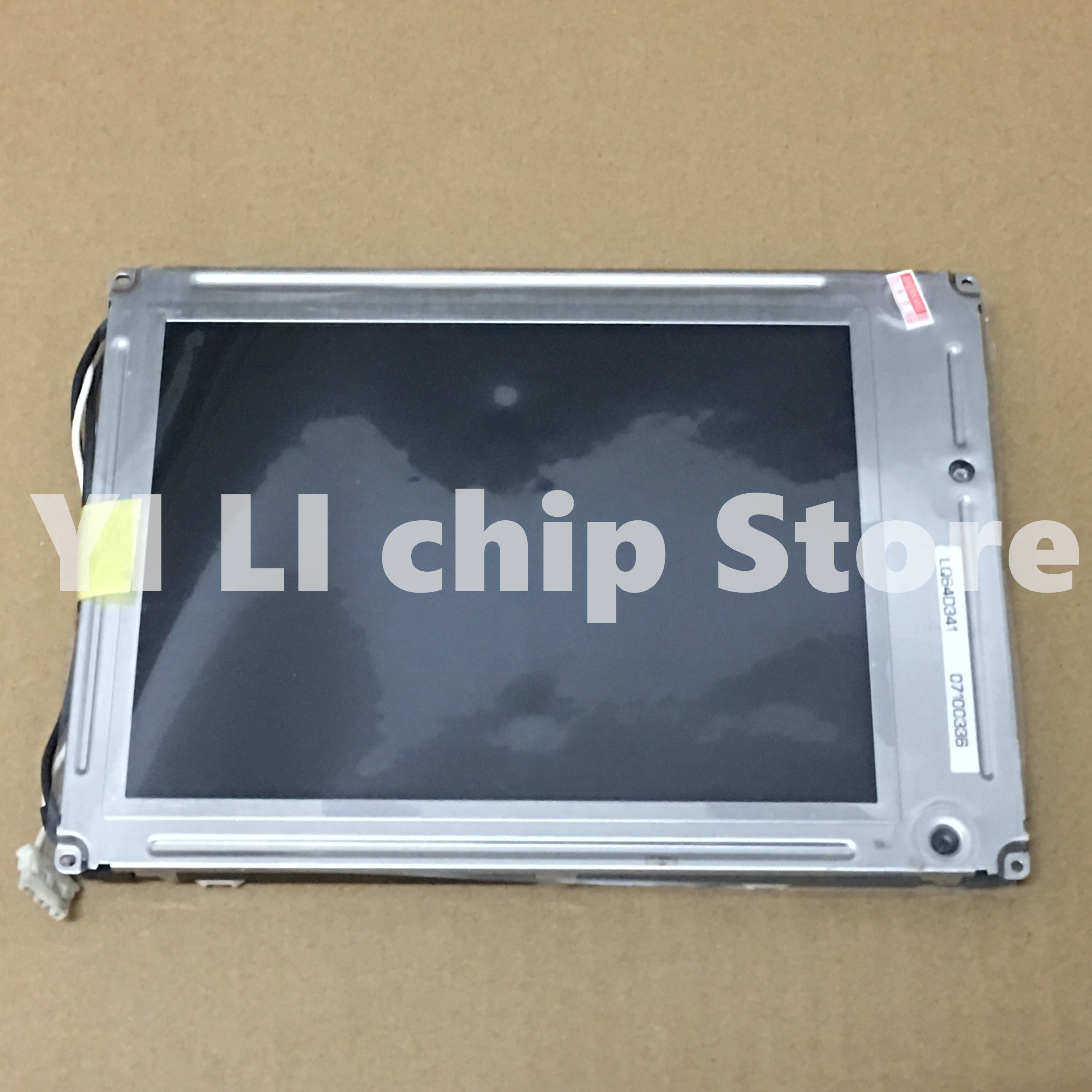 Prueba de 100% LQ64D341 pantalla LCD Original de 6,4 pulgadas para el probador de teléfono móvil YOKOGAWA VC200