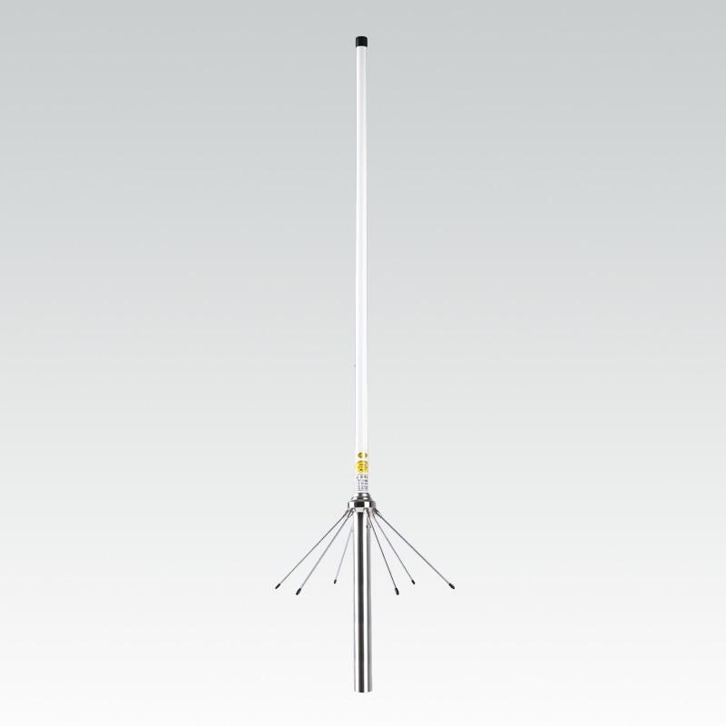 144/435Mhz المزدوج الفرقة vhf uhf أومني الألياف الزجاجية هوائي بقاعدة SO239 SL16-K في الهواء الطلق مكرر اسلكية تخاطب UV هوائي