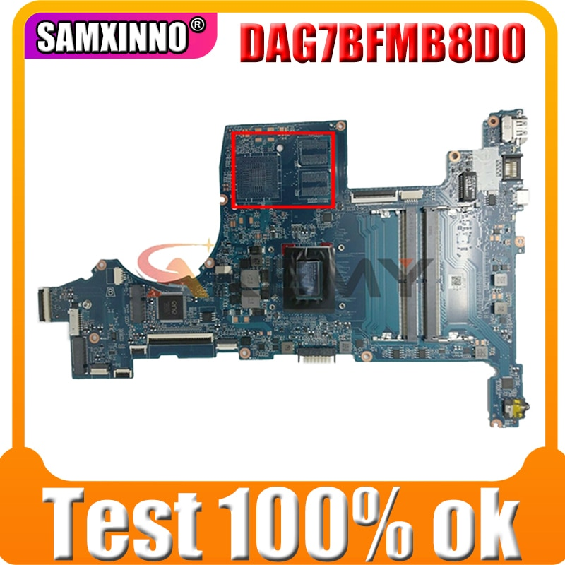 AKemy محمول لوحة رئيسية لأجهزة HP بافيليون 15-CW YM2200 اللوحة L22760-601 DAG7BFMB8D0 DDR4