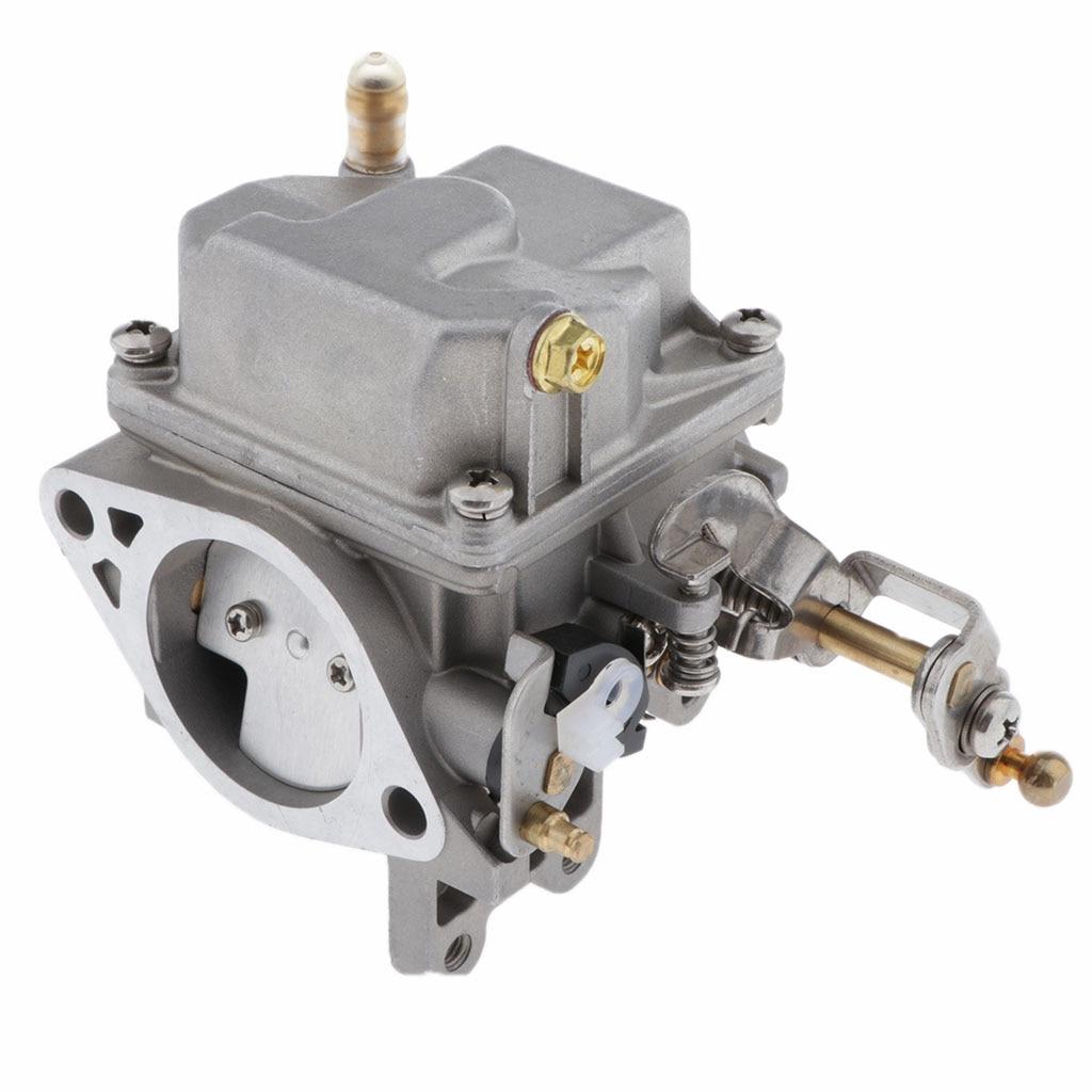 Barco a motor de popa carburador carb assy 69p-14301-00 69p-14301-10 69s-14301-00 para yamaha motor de popa 25hp 30hp 2 tempos
