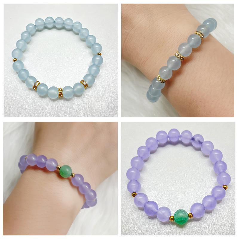 Hot Selling Natural Stone Bracelets for Women Classic Romantic Small Fresh Men and Women Charm Brace