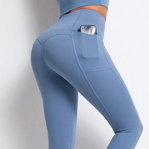 Push Up Yoga Pants With Pocket Women Sports Gym Pants Seamless Leggings Fitness for Women Sexy Tights Gym Clothing Sportswear