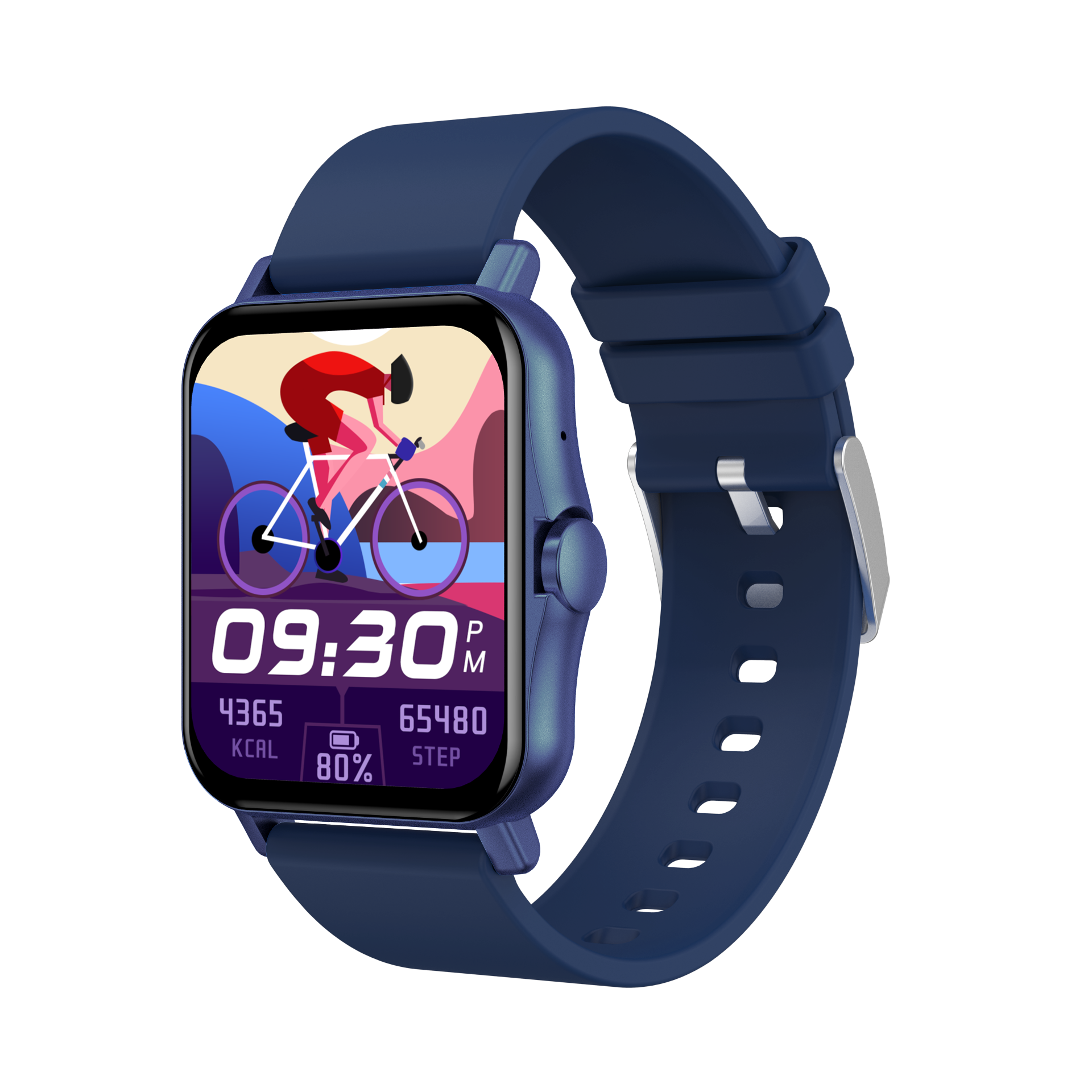 New ZW23 Large-Screen Multi-Function Smart Watch Wor Men And Women, Bluetooth 4.0 Can be connected t