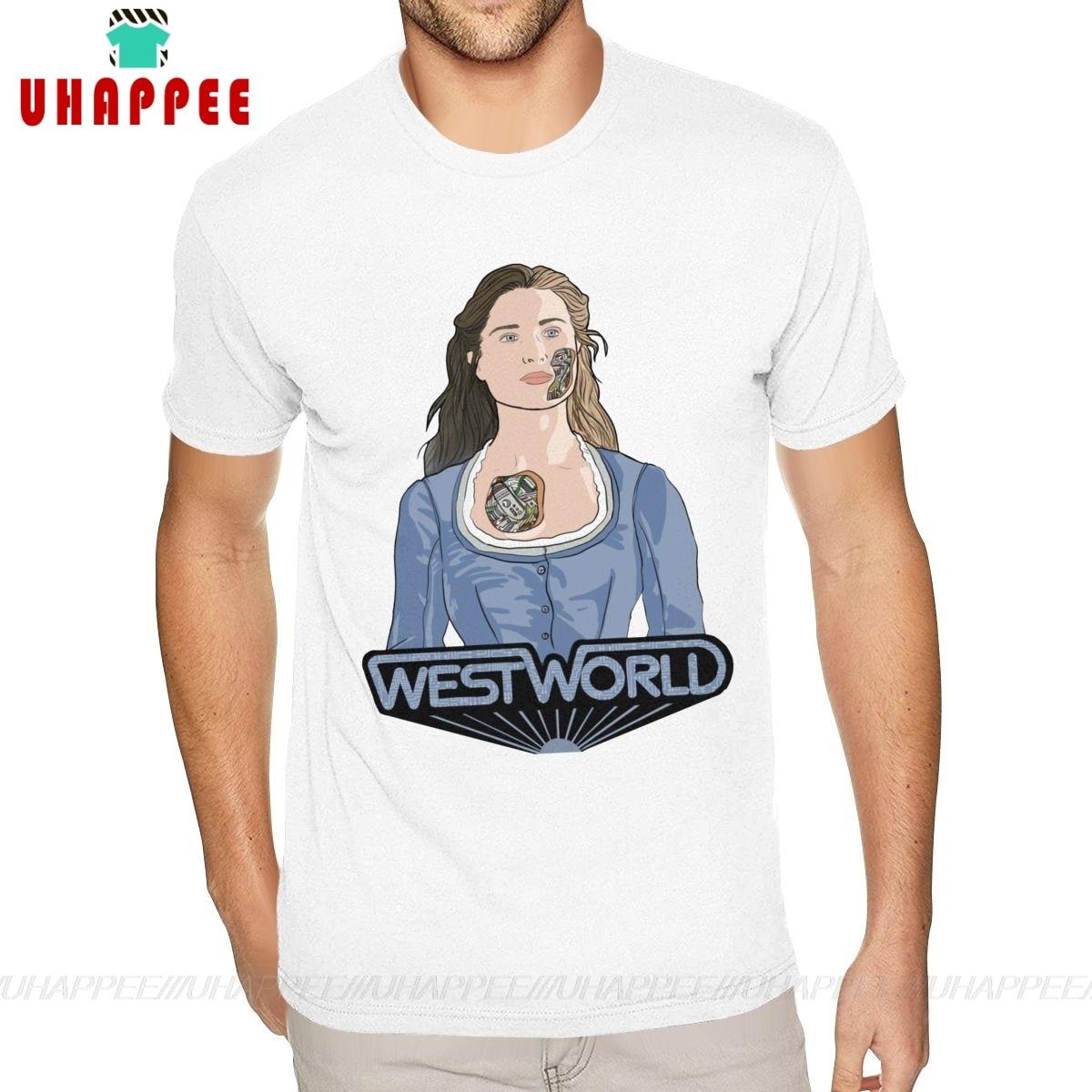 Westworld Dolores Abernathy футболки 5XL мужские чистые рубашки