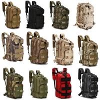Тактический Рюкзак 25 л, военная армейская уличная спортивная сумка для женщин и мужчин, сумки для кемпинга, походов, скалолазания
