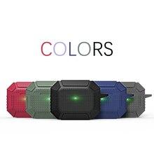 Étui armure pour Airpods Pro Cool robuste militaire antichoc Silicone étui pour écouteurs pour Airpods Pro Protection sac complet