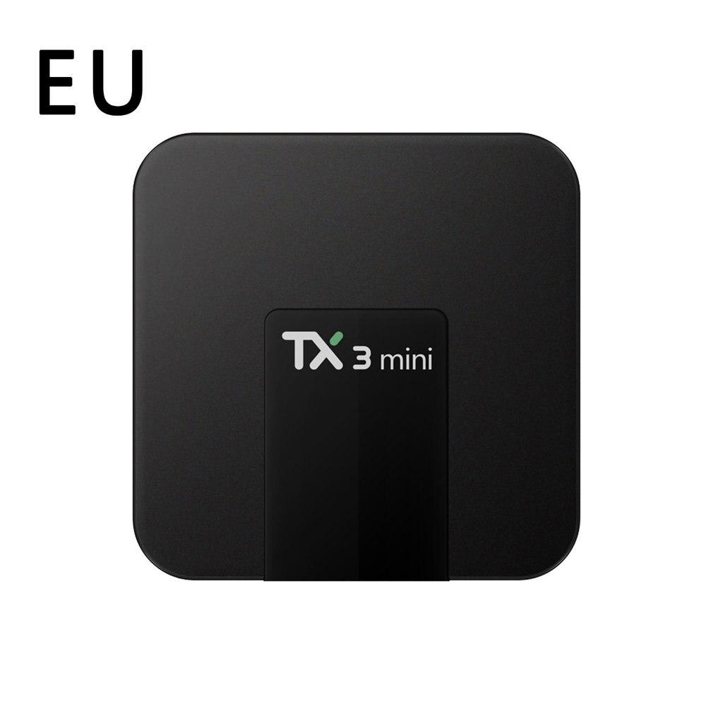 TX3 صندوق تليفزيون صغير أندرويد 8.1 1G/8G 2G/16GEMMC Amlogic Penta-core تي في بوكس أندرويد مع شاشة LED 4K HD الذكية مجموعة صندوق علوي