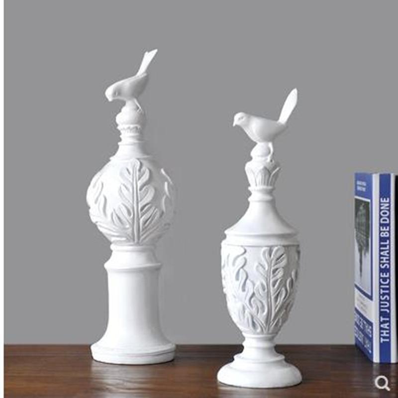 2020 Creative European Resin Magpie Bird Crafts Statue, Home Desk Decoration, Birthday Gift