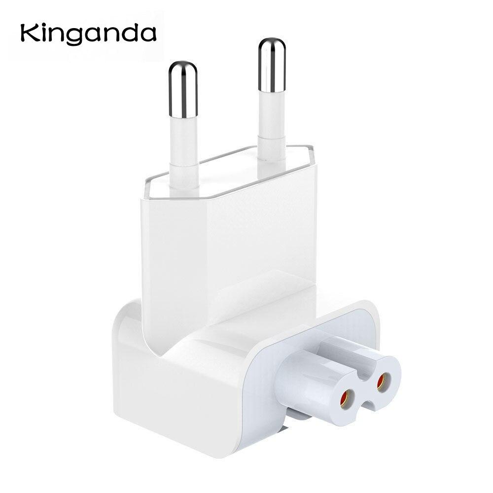 Новый европейский штепсельный разъем AC утка головка для iPad Air Pro MacBook Зарядное устройство Костюм Для MagSafe 2 стены зарядки адаптер питания ЕС Е...