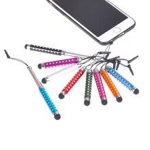 Stylet tactile à écran capacitif Extensible pour smartphone tablette stylo couleur aléatoire
