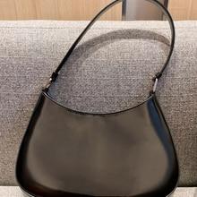 Lili cleo armpit bag hobo women bag baguette bag shoulder bag handbag flip bag genuine leather